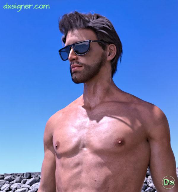 Création de personnage 3D réaliste - Agence Dxsigner-design-designer-character-creator-animate-3D-jeux-vidéo-game-virtual-influencer-mascotte-mode-photorealistic-render-AvatarX1-RENDU-HD-2