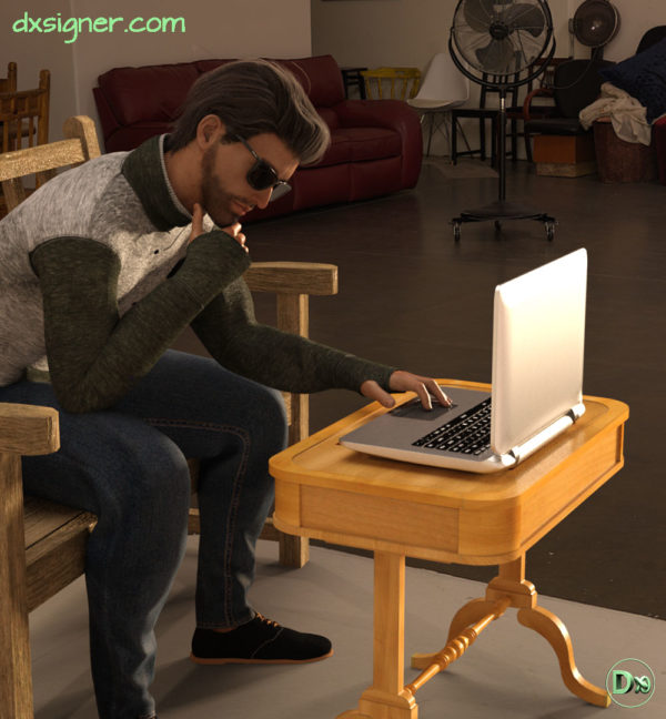 01-Dxsigner-design-character-creator-animate-3D-jeux-vidéo-game-virtual-influencer-mascotte-mode-photorealistic-render-mode-lifestyle-working-RENDU-HD-2