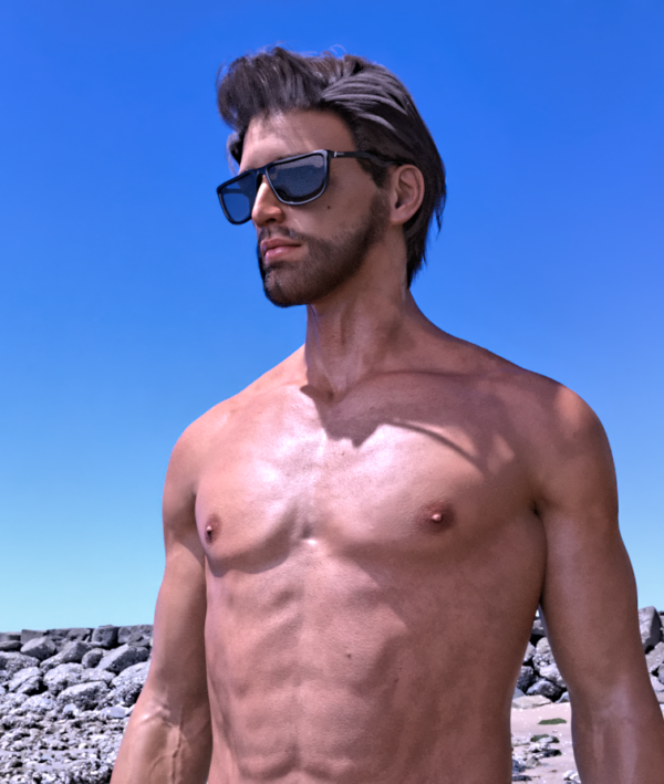 AVATAR X1 - Personnage 3D Design Photoréaliste HDRI - Character Modelling CGI (by dxsigner design)