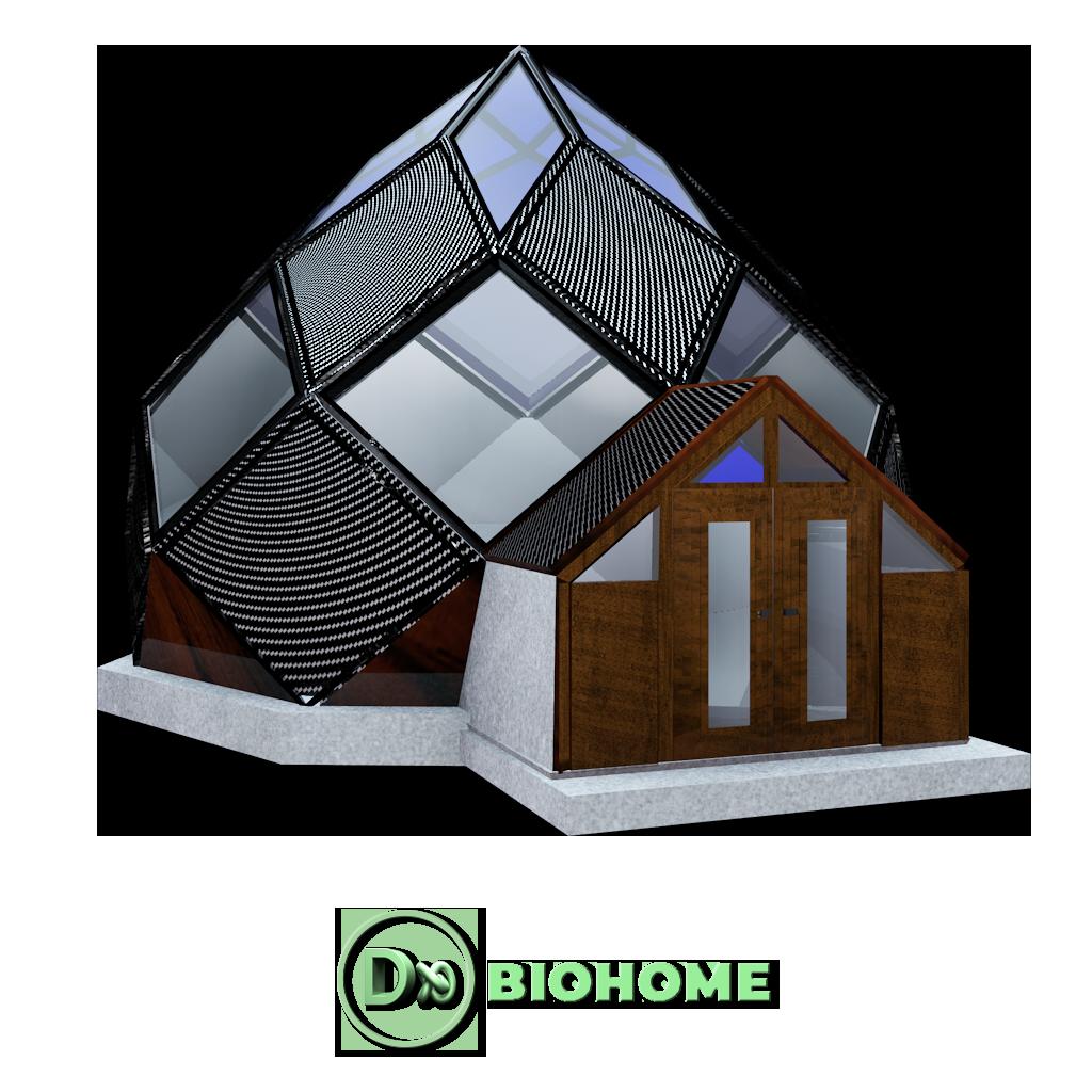 design branding packaging 3d architecture cologique moderne dx biohome. Black Bedroom Furniture Sets. Home Design Ideas