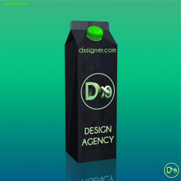 Dxsigner - Designer Consultant en Design produit, packaging, Visualisation 3D | Bretagne, Finistère Brest, Quimper -Brique en Carton-