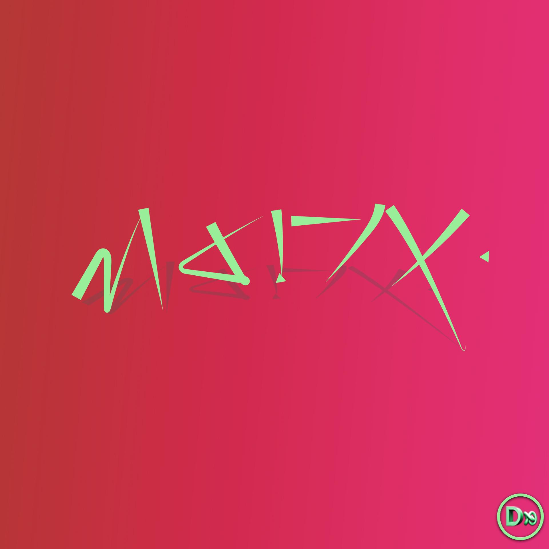 dxsigner - Graphiste, illustrateur, illustration, infographiste 3D - Création de design de logo pour entreprise, marque, produit pour un groupe de musique - Artiste musical - poète - chanteur - electro - pop - Bretagne - Finistère - livre - Brest - Morlaix - Quimper - Logo Marix 001 - Pochette de disque - CD Vinyle - cover musique - music - 3D - Directeur Artistique- Bretagne - Finistère - Brest - Morlaix - Quimper - Logo Marix 001 -