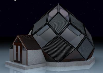 Maison autonome Bretagne - Zome construction constructeur 2019 DXHOME-ABUNDANCE-CITY-LUX - 28m2-(DROITE)-design-by-dxsigner-Architecture-ecologique