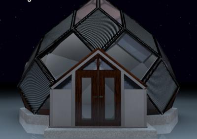 Maison autonome Bretagne - Zome construction constructeur 2019 DX-BIOHOME-ABUNDANCE-CITY-LUX - 28m2-(face)-design-by-dxsigner-Architecture-ecologique