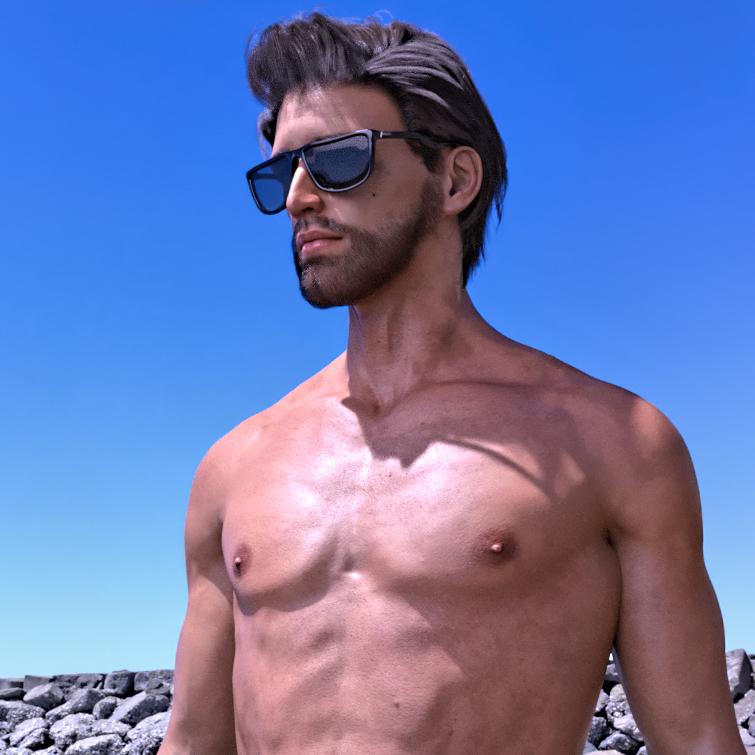 Dxsigner - Design, Création de mascotte, Avatar, Personnage 3D Réaliste pour une entreprise, Marque, Jeux Vidéo - Bretagne, Finistère - Brest, Quimper - Morlaix - Avatar photo-réaliste haute définition - HD