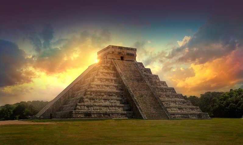 Pyramide de Chichen Itza - Mexique - Équinoxe septembre 2019