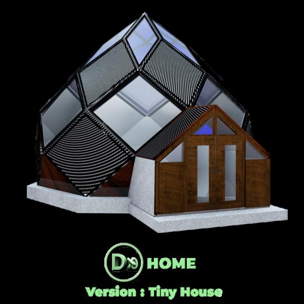 Zome construction constructeur 2019 - DXHOME : Tiny House (Design Architecture écologique Biomimétique) biomimétisme - Bretagne -Finistère - Brest - Quimper - Morlaix - France | International