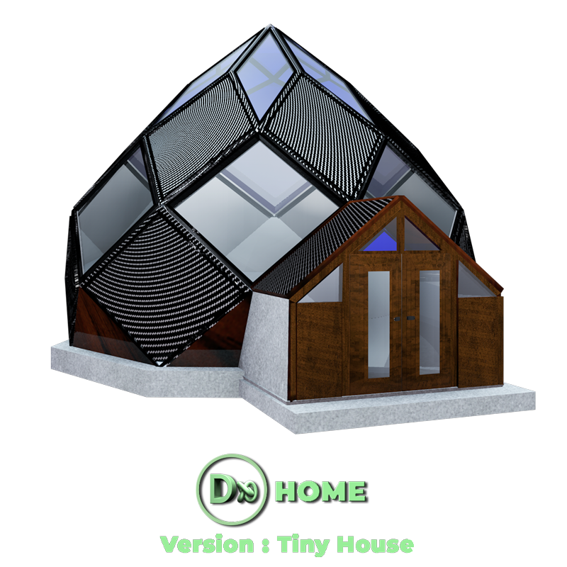 DXHOME : Tiny House (Design Architecture écologique Biomimétique) biomimétisme - Bretagne -Finistère - Brest - Quimper - Morlaix - France | International