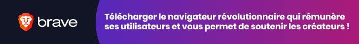 BRAVE : Télécharger le Navigateur qui créer un échange circulaire éthique entre les créateurs, internautes, publicitaires.