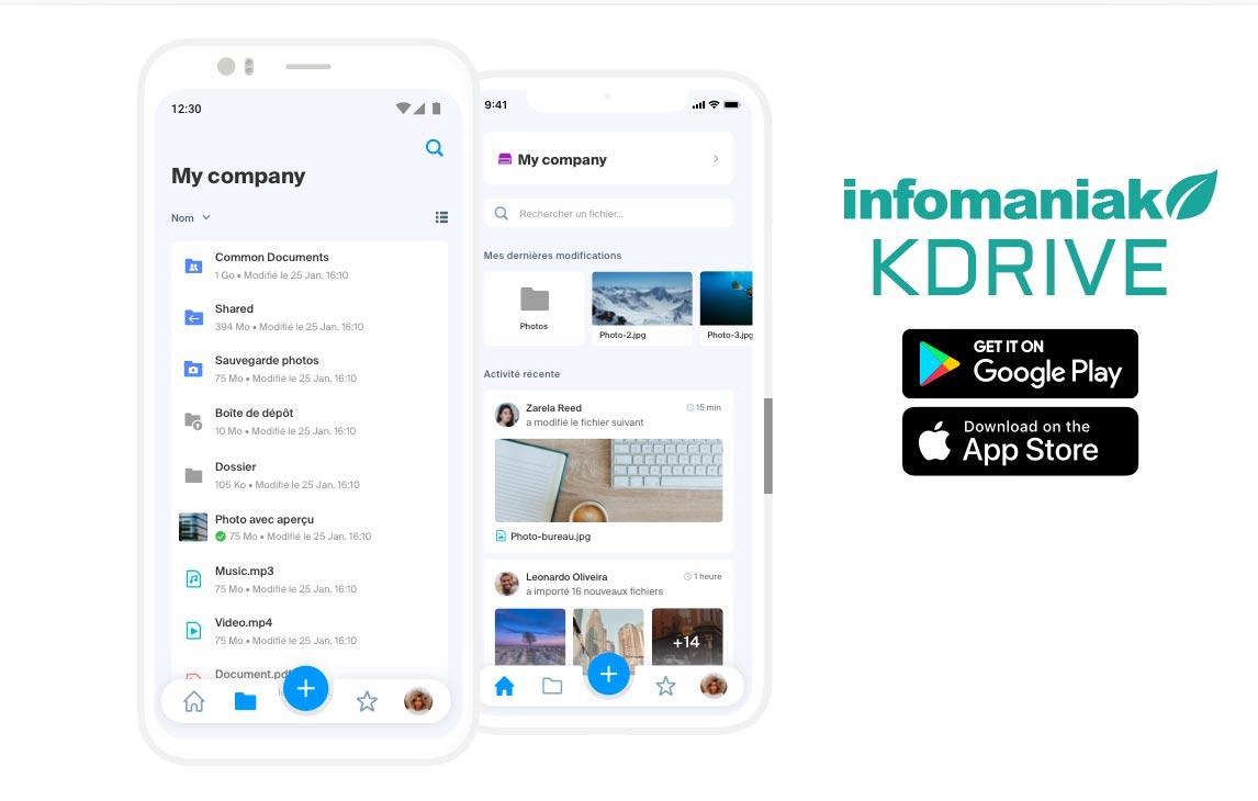 Infomaniak_Compte-mail-et-Cloud-Drive_Ecologique-Alternative_google_Drive_Application_app_mobile_KDrive
