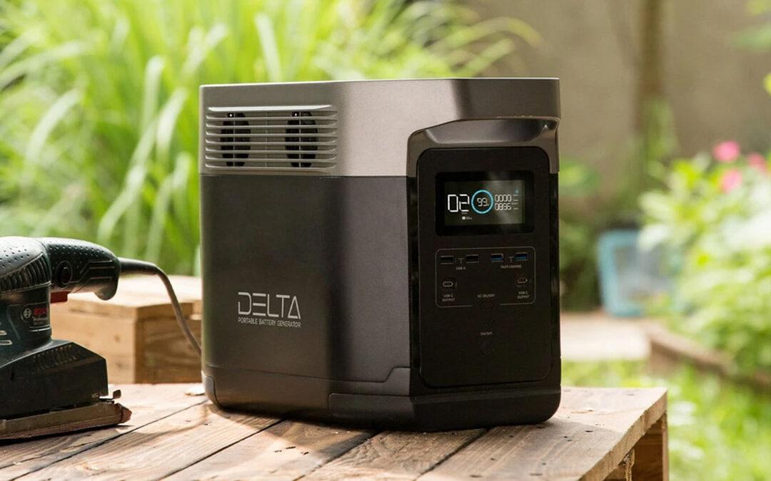 EcoFlow DELTA 1800W | La meilleur batterie solaire portable ?