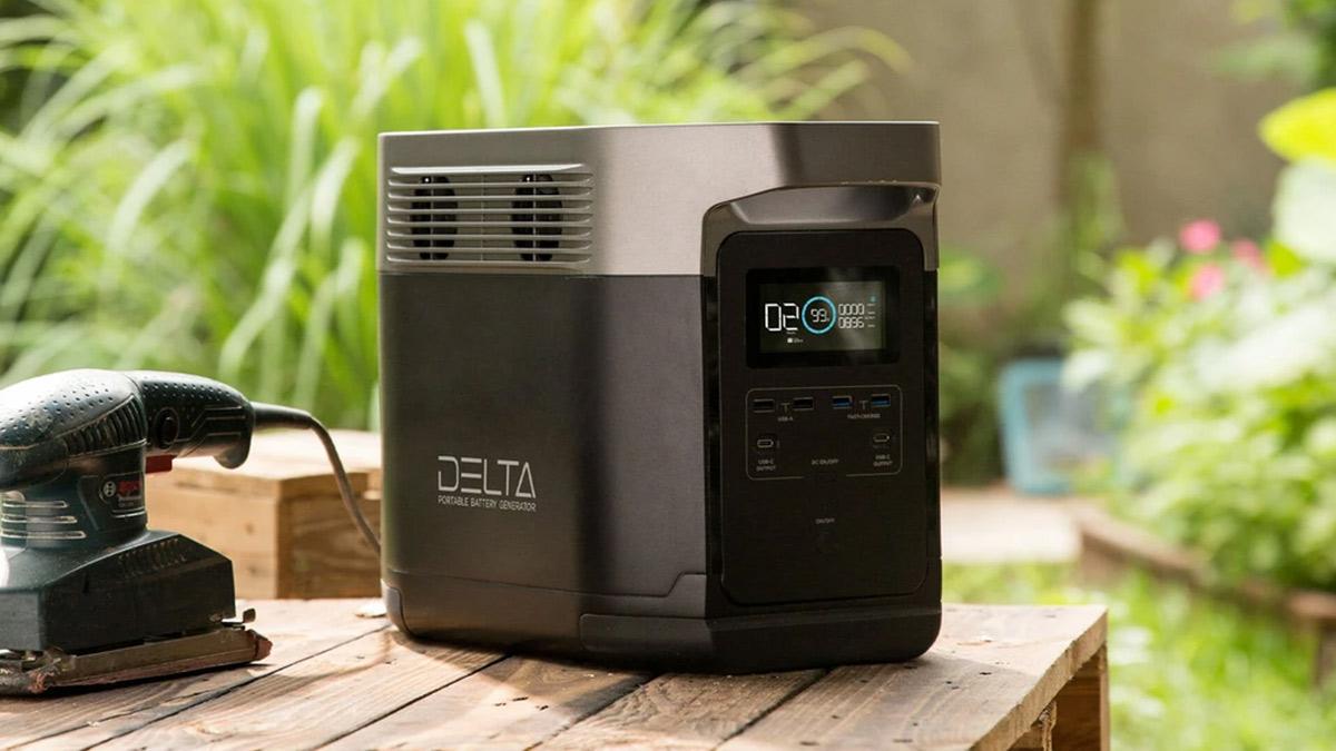 EcoFlow-DELTA-Onduleurs-Convertisseurs-USB-Prise-Electrique-Générateur-Centrale-electrique-Solaire-nomade-portable